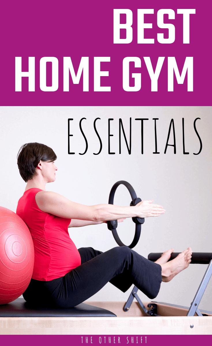 Best overall home gym essentials. Home gym equipment ideas for busy shift workers stuck for space and want to see results fast| theothershift.com | #homegym #homegyequipmentideas #shiftwork