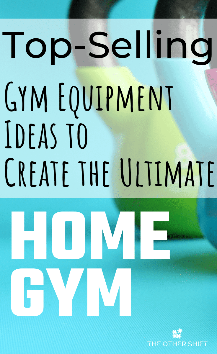 Create a home gym you're proud and comfortable to workout in. Home gym equipment ideas, product recommendations for small spaces and how to still be a health and fitness minimalist. | theothershift.com