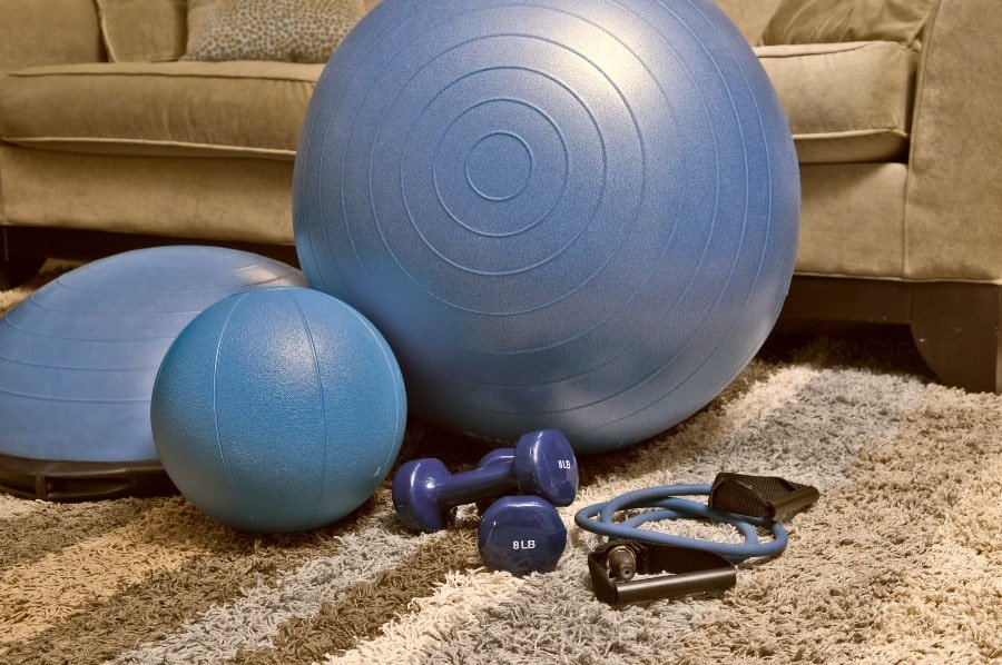 home-fitness-equipment- Best Home Gym Equipment Ideas for Busy People. theothershift.com