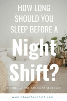 How To Best Prepare For The Night Shift And Stay Healthy